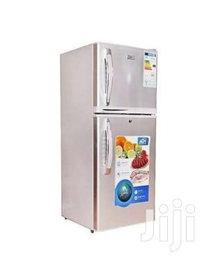 ADH BCD138DC 90L SOLAR Double Door Refrigerator Silver | Kitchen Appliances for sale in Kampala