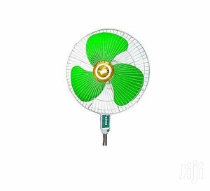 """Evernal 16"""" Stand Fan - Green,White 