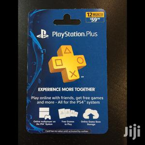 1 Year Playstation Plus Subscription   Video Games for sale in Kampala