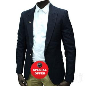 Plain Office and Casual Men's Blazers - Navy Blue.   Clothing for sale in Kampala