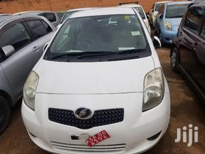 Toyota Vitz 2007 White   Cars for sale in Kampala