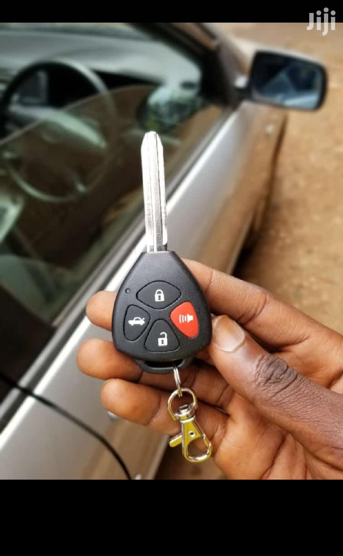 Car Alarm With Key Remote