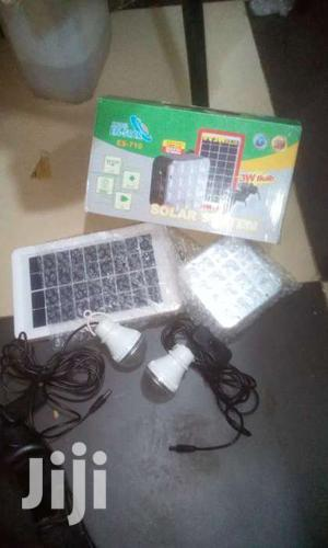 SOLAR Kit Full System 2 Bulbs And Phone Charger   Solar Energy for sale in Kampala