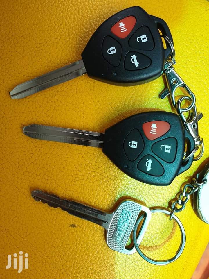 Car Alarm With Remote Key