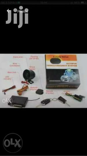 Car Alarm With Key   Vehicle Parts & Accessories for sale in Kampala