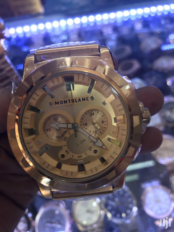 Montblanc Men's Watch