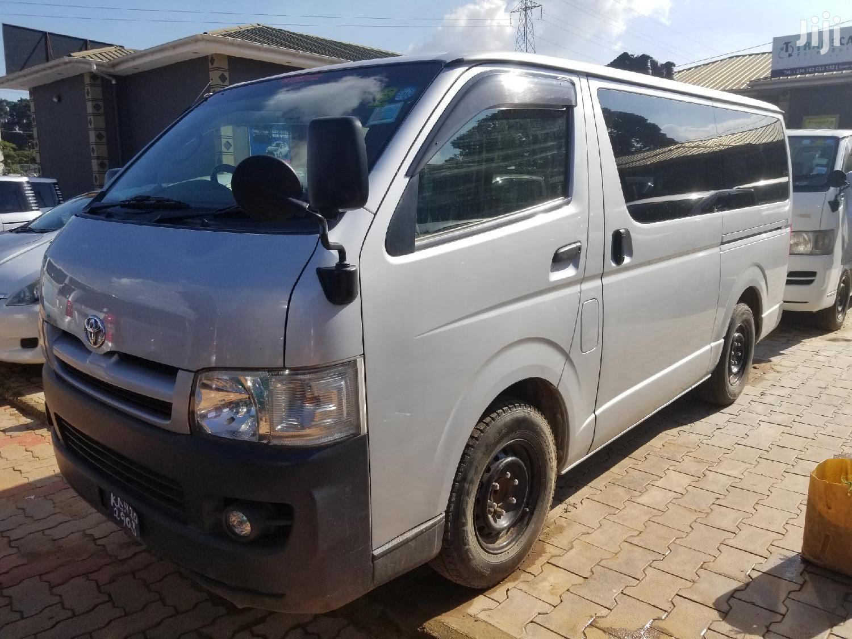 Toyota Hiace 2007 Silver | Buses & Microbuses for sale in Kampala, Uganda