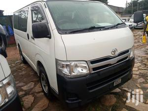 Toyota Hiace 2013 White   Buses & Microbuses for sale in Kampala
