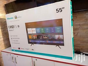 "Hisense 55""Smart Android Uhd 4k Tv | TV & DVD Equipment for sale in Kampala"