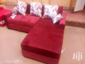 Ready Delivery Mini L Shape Sofa 5seater | Furniture for sale in Kampala