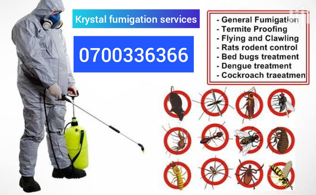 Fumigation Services | Cleaning Services for sale in Kampala, Uganda