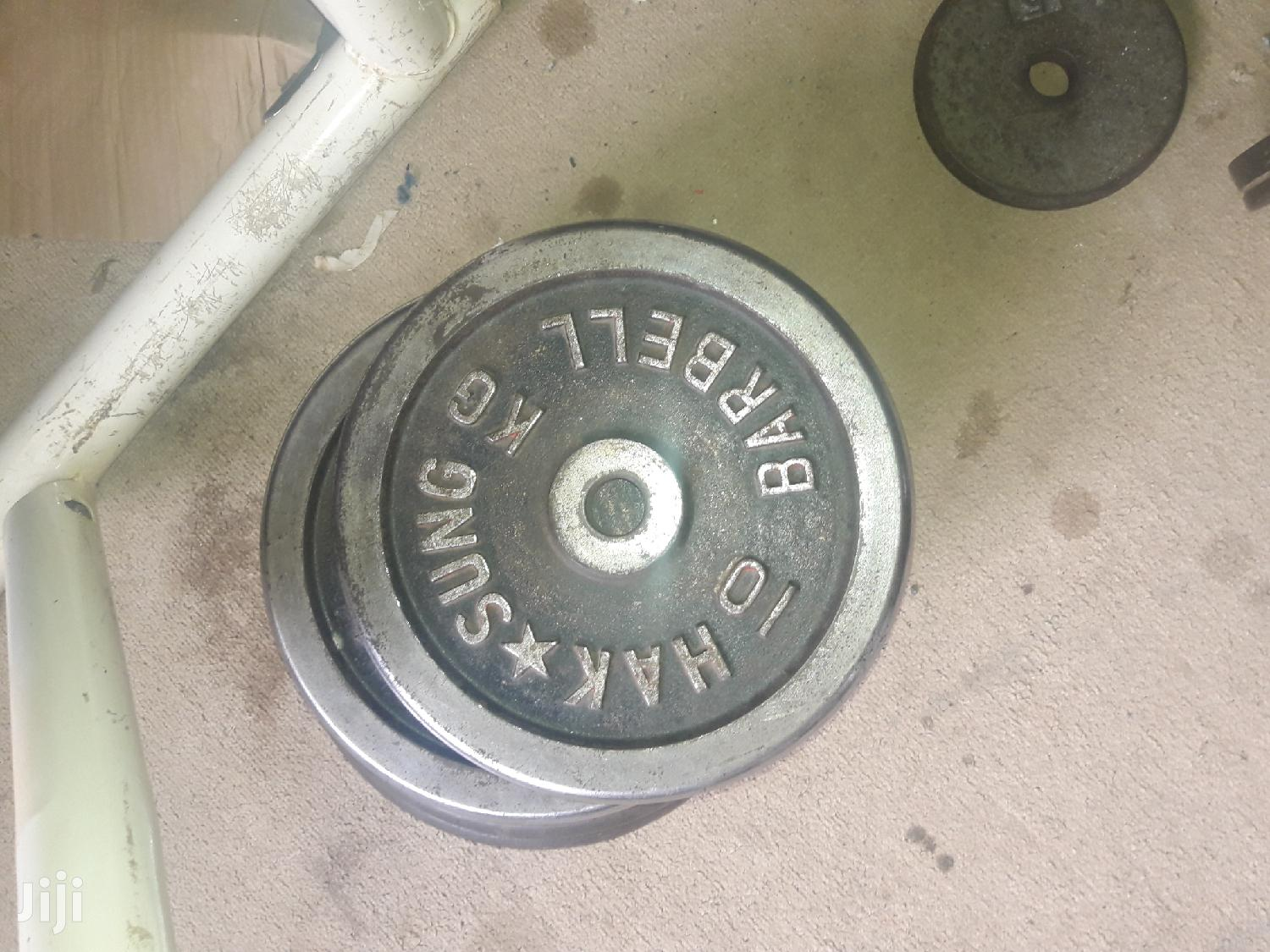 Barbell Weights   Sports Equipment for sale in Kampala, Uganda