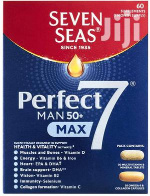 Seven Seas Perfect Man 50+ | Vitamins & Supplements for sale in Kampala