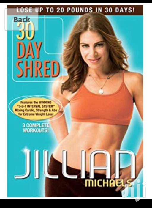 30 Day Shread By Jillian Micheals