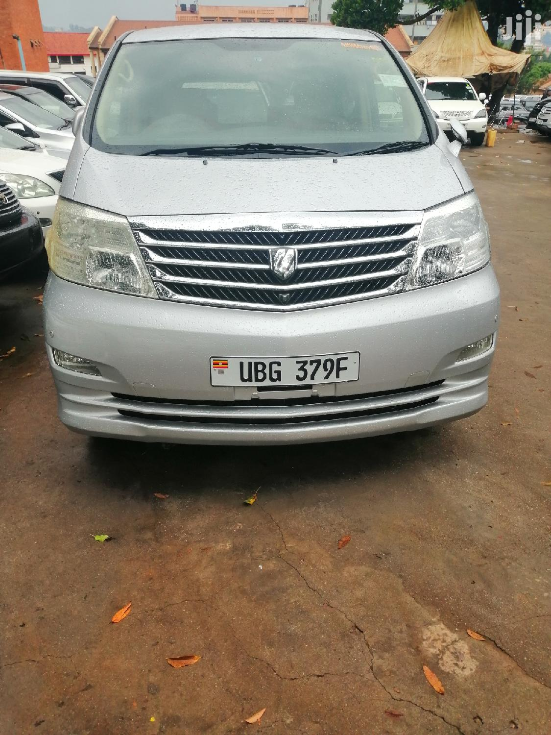 Archive: New Toyota Alphard 2006 Silver