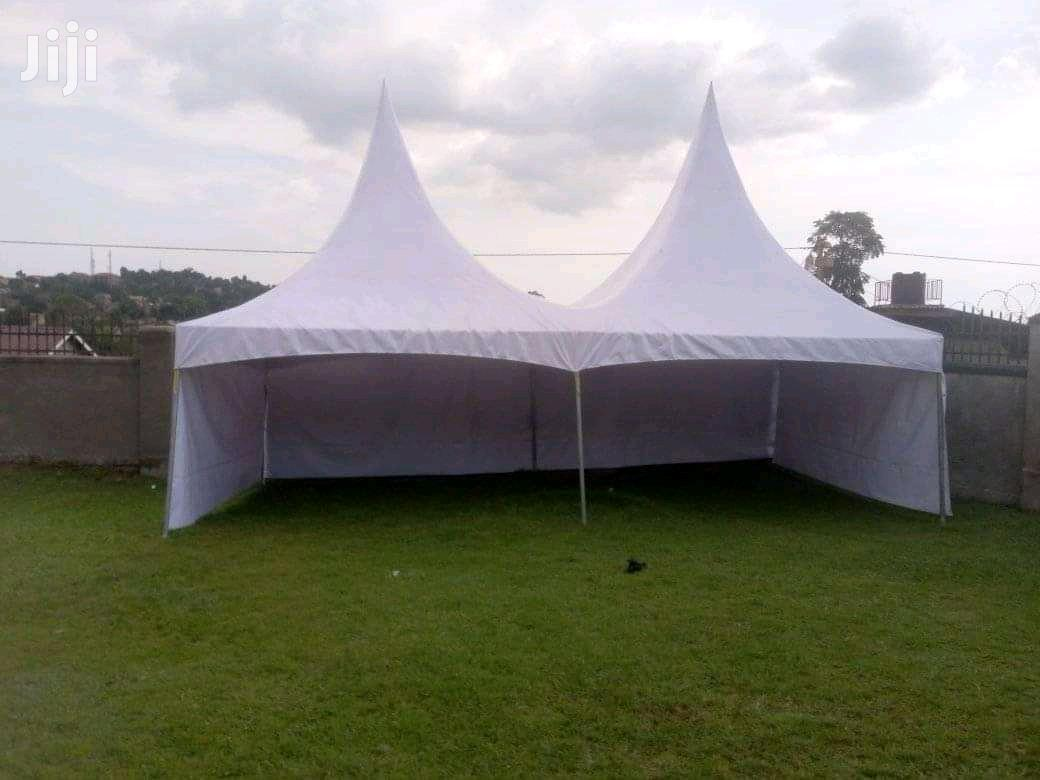 100 Seater Tent In White