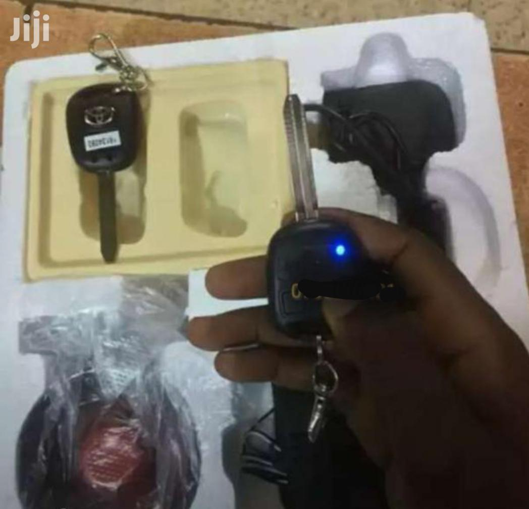 Car Alarm With Keys