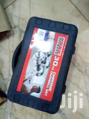 Crome 30kg Dumbbell Set | Sports Equipment for sale in Kampala