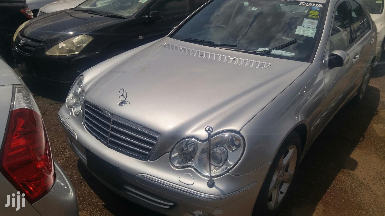 Mercedes-Benz C180 2006 Silver