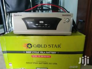 Gold Star Solar and Backup Battery 200ah   Solar Energy for sale in Kampala
