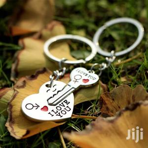 Trendy Couple I LOVE YOU Heart Keychain Ring Souvenirs | Home Accessories for sale in Kampala