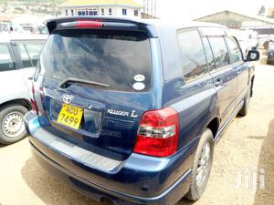 Toyota Kluger 2007 Blue   Cars for sale in Kampala