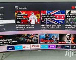 Samsung QLED Series 8 Curved Smart TV 55 Inches Slightly Used | TV & DVD Equipment for sale in Kampala