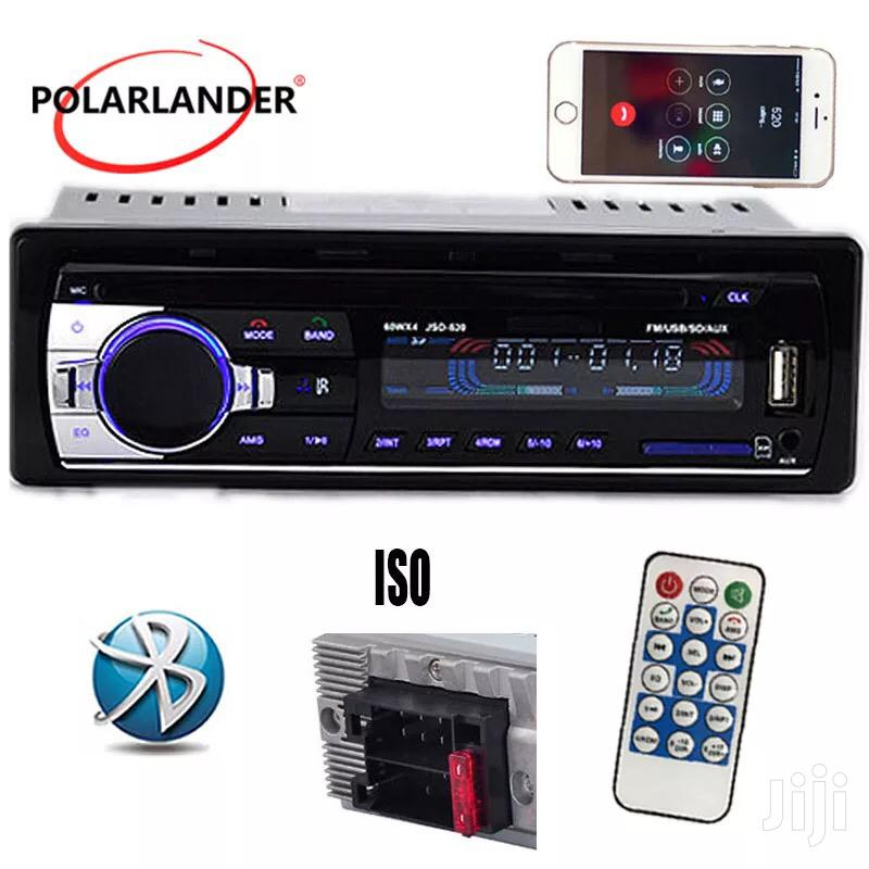 New 12V Car Radio Player MP3 Stereo FM Built In Bluetooth