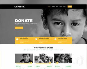 Charity Website Development and Hosting   Computer & IT Services for sale in Kampala