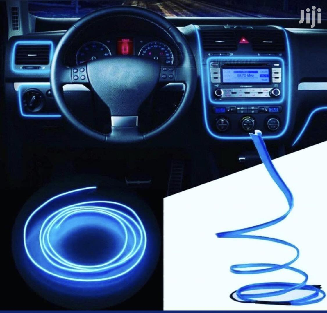 Car Dashboard Interior Light