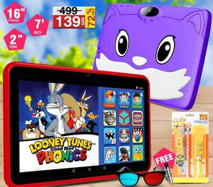 Lenosed Kids Study Tablet PC With Pre-Installed Learning Apps and Game | Toys for sale in Kampala