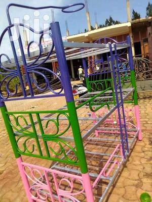 Metallic Triple Decker Bed | Furniture for sale in Kampala