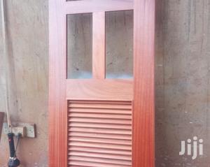 Brown Single Door With Glass   Doors for sale in Kampala