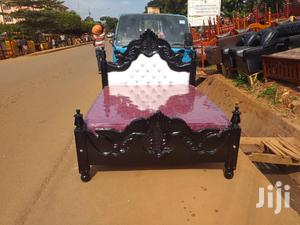Wooden Kings Bed 5*6 | Furniture for sale in Kampala