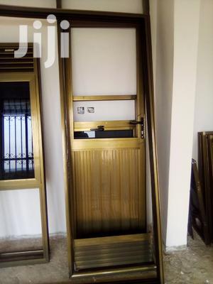 Aluminium Back Door | Doors for sale in Kampala