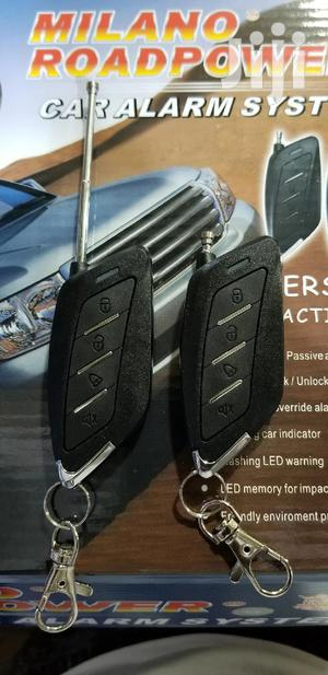 Original Security Car Alarm With Black Remotes   Vehicle Parts & Accessories for sale in Kampala