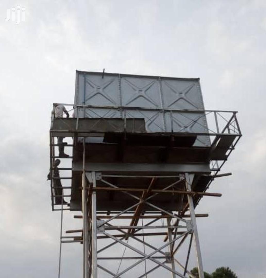 Galvanised Water Tank Plates&Installations