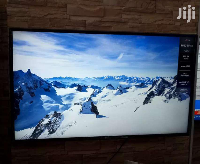 LG Led Smart UHD 4k Digital Satellite TV 43 Inches   TV & DVD Equipment for sale in Kampala, Uganda