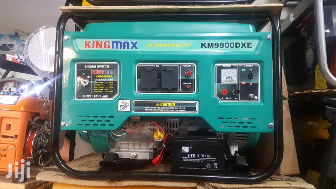 Archive: 7 Kva Kingmax Generator Available For Sale