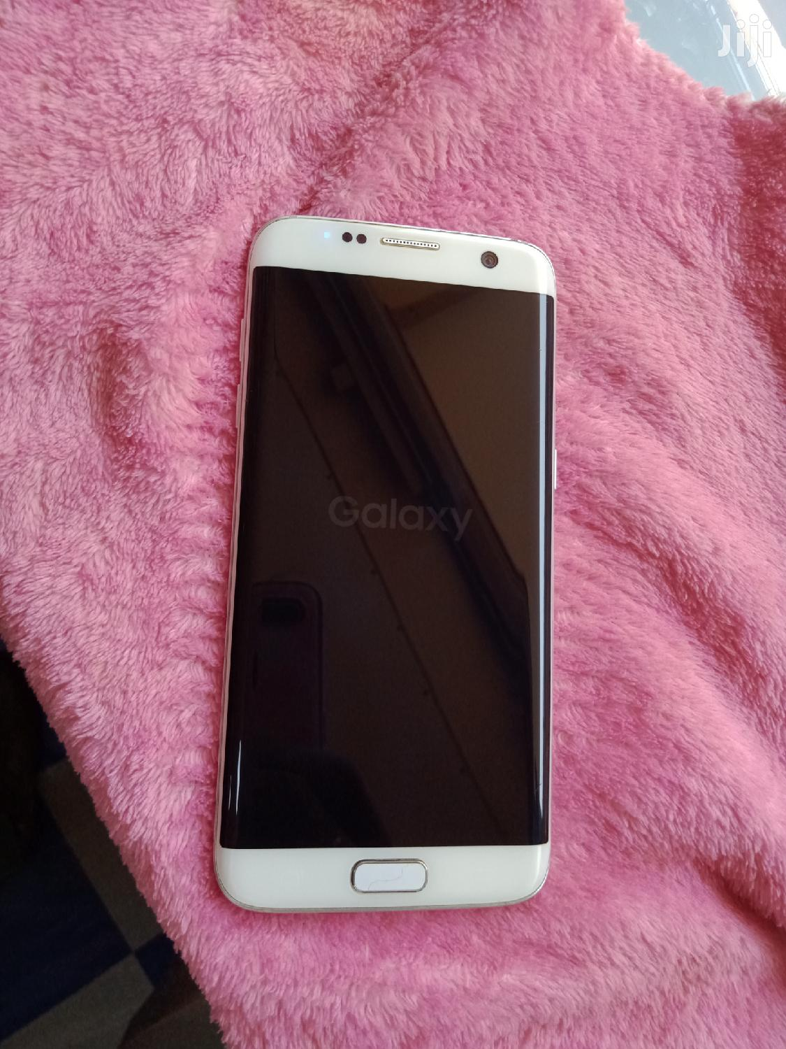 Samsung Galaxy S7 edge 32 GB White   Mobile Phones for sale in Central Division, Kampala, Uganda
