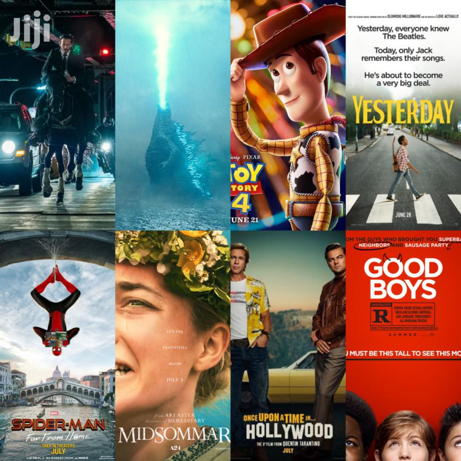 Latest Movies and Series Soft Copy Library