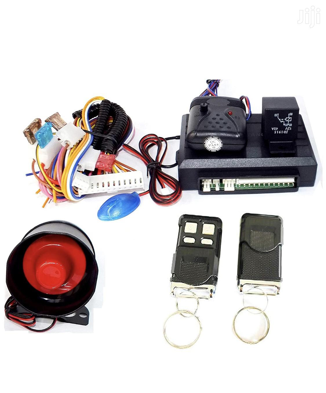 Archive: Universal Car Alarm With 2 Remote Control Key
