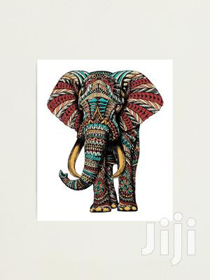Beautiful Elephant Design Painting   Arts & Crafts for sale in Kampala