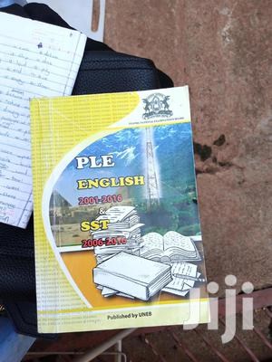 Primary Leaving Examination English And Sst Book   Books & Games for sale in Kampala