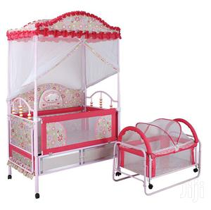 2 In 1 Baby Crib With Storage Space   Children's Furniture for sale in Kampala