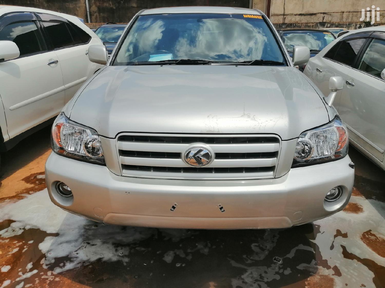 Toyota Kluger 2007 Silver | Cars for sale in Kampala, Uganda
