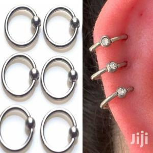 1pc Captive Bead For Ear Nose,Tragus,Lip,Nipple, Belly Ring   Jewelry for sale in Kampala