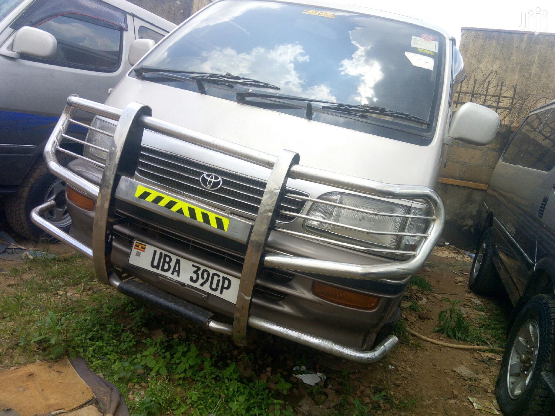 Toyota HiAce 1999 Silver   Buses & Microbuses for sale in Kampala, Uganda