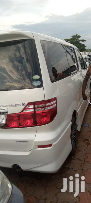 New Toyota Alphard 2008 White   Cars for sale in Kampala