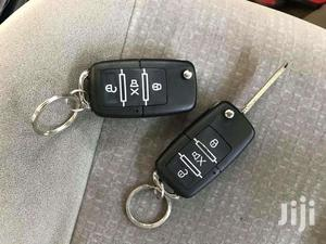 Black Flip Key Car Alarm System   Vehicle Parts & Accessories for sale in Kampala